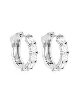 Diana M. Fine Jewelry 18 K 1.00 Ct. Tw. Diamond Huggie Earrings by Diana M