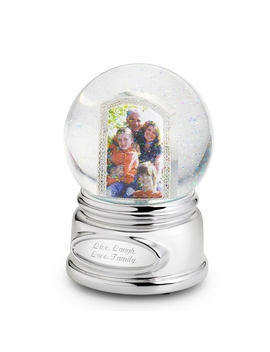 Picture Perfect Photo Musical Snow Globe by Things Remembered