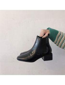 Rikko   Block Heel Ankle Boots by Rikko