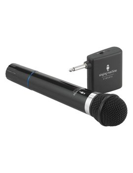 Wireless Unidirectional Dynamic Microphone by Singing Machine