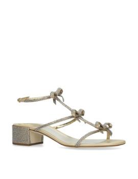 Embellished Setina Sandals 40 by René Caovilla