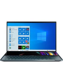 "Laptop Ultraportabil Asus Zen Book Pro Duo Ux581 Gv Cu Procesor Intel® Core™ I9 9980 Hk Pana La 5.00 G Hz Coffee Lake, 15.6"", 4 K, 32 Gb, 1 Tb Ssd M.2, Nvidia Ge Force Rtx 2060 6 Gb, Windows 10 Pro, Celestial Blue by Asus"