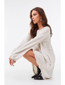 Reverse Seam High Low Dress by Forever 21
