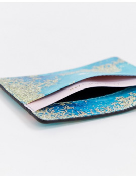 Coconut Lane Crystal Lagoon Card Holder by Coconut Lane