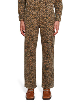 All Over Leopard Print Pant by Dickies 1922 X Opening Ceremony