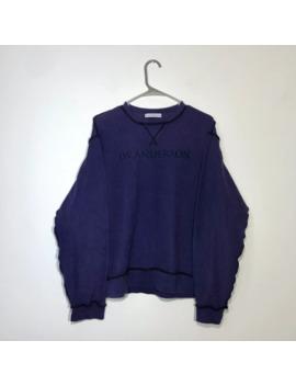 Purple Inside Out Sweatshirt Medium by J.W.Anderson  ×