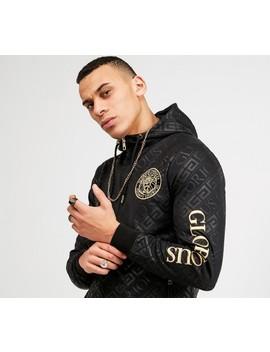 Linden Full Zip Hooded Top | Black / Black by Glorious Gangsta