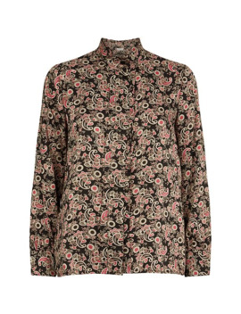 Paisley Print Blouse by Sandro