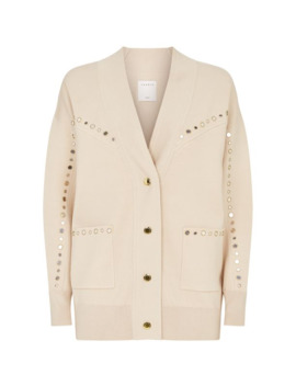 Studded Cardigan by Sandro