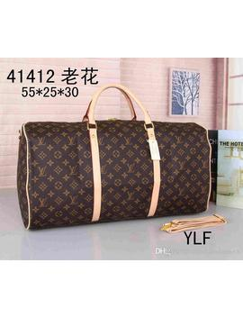 2019 New Designers Luxurys Handbag Purse Genuine Leather High Quality Flower Pattern Travel Luggage Duffel Bags Free Shipping by D Hgate.Com