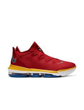 "Nike Le Bron 16 Low ""University Red/Varsity Royal"" Men's Basketball Shoe Nike Le Bron 16 Low ""University Red/Varsity Royal"" Men's Basketball Shoe by Hibbett"