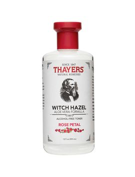 Witch Hazel Alcohol Free Toner   Aloe Vera Formula   Rose Petal (12 Fluid Ounces) by Thayer