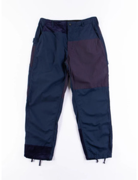 Ss19 Painter Pants 6.5oz Flat Twill Navy by Engineered Garments  ×