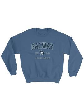 Galway Sweatshirt Vintage Galway Ireland Sailing Anchor Boat Flag Sweatshirt (Unisex) by Etsy