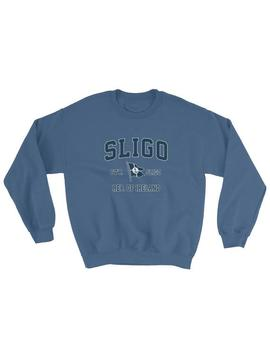 Sligo Sweatshirt Vintage Sligo Ireland Sailing Anchor Boat Flag Sweatshirt (Unisex) by Etsy