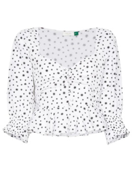Sameera Starry Button Down Top by Rixo