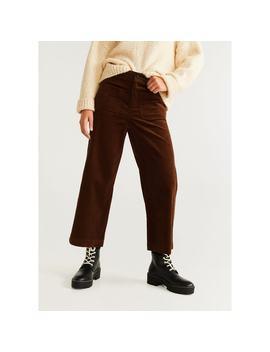 Pantalon Coton Velours Côtelé by Mango
