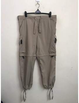 Vintage Nike Acg All Gear Condition Made In Thailand Detachable Leg Multi Cargo Pocket Drawstring Baggy Wide Trouser Pant by Nike Acg  ×