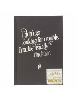 Harry Potter Slogan Hardback Notebook Harry Potter Slogan Hardback Notebook by Wilko