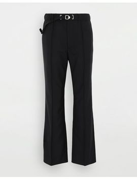 Adjustable Wool Trousers by Maison Margiela