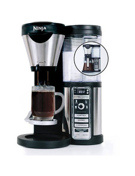 Ninja Coffee Bar With Glass Carafe And Filter Basket (Certified Refurbished) by Ninja
