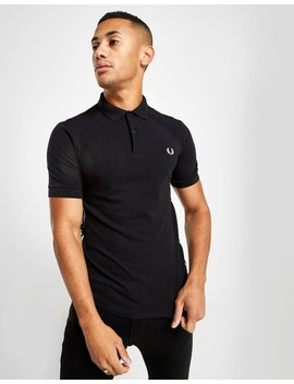 Fred Perry Taped Side Short Sleeve Polo Shirt by Jd Sports