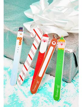 Holiday Nail File 5 Piece Gift Set by The Crème Shop