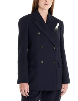 Doublebreasted Jacket by Brunello Cucinelli