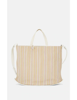Pin Cabas Woven Leather Tote Bag by Delvaux