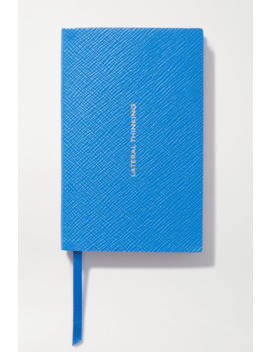 Panama Lateral Thinking Textured Leather Notebook by Smythson