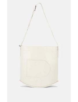 Pin Leather Tote Bag by Delvaux
