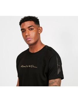 Mlorton T Shirt | Black / Gold by Kings Will Dream