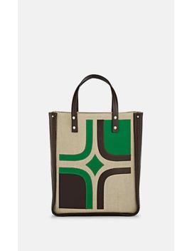 Tum Tum Medium Leather Appliquéd Tote Bag by Fontana Milano 1915