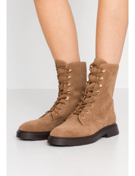 Mckenzee   Lace Up Ankle Boots by Stuart Weitzman