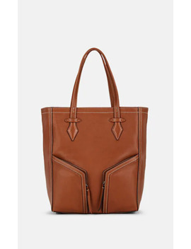 Sergeant Leather Tote Bag by Métier London