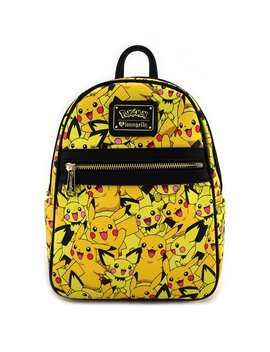 Pokemon Pikachu Pichu Print Mini Backpack by Pok��Mon
