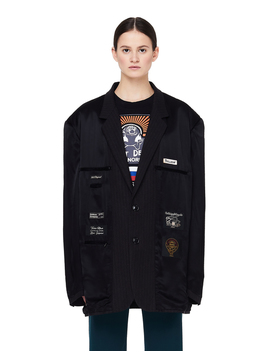 Vetements Black Inside Out Jacket by Garmentory