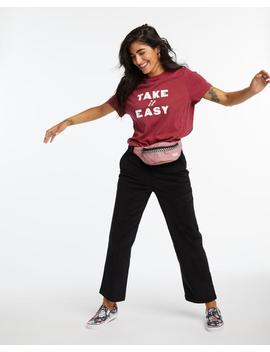 Take It Easy Boxy Tee by Ban.Do