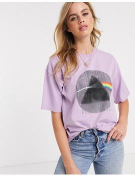 Asos Design – Gewaschenes Oversize T Shirt Mit Pink Floyd Print by Asos