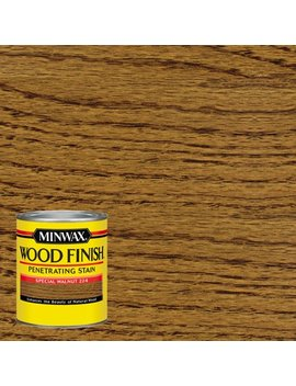 Minwax Wood Finish Penetrating Stain, Special Walnut, 1 Quart by Minwax