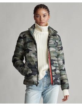 Camo Packable Down Jacket by Ralph Lauren