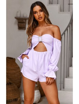 La Rousse Playsuit Lilac by White Fox