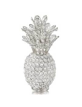Benfield Pina Cristal Pineapple Sculpture by House Of Hampton