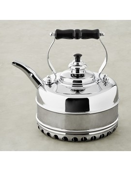 Simplex Buckingham No 3 By Newey & Bloomer Chrome Rapid Boil Tea Kettle by Williams   Sonoma