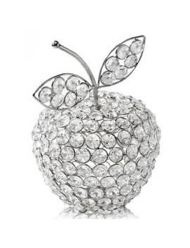 Benefield Manzana Cristal Apple Sculpture by House Of Hampton