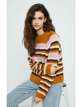 Raglan Long Sleeve Pullover Sweater by Pacsun