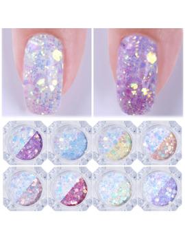 3 Pcs/Set 3 D Irregular Nail Sequins Mixed Flower Color Glitter Powder For Uv Gel Flakes Nail Art Decoration by Ali Express.Com