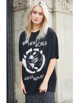 John Galt Brave New World T Shirt by Pacsun
