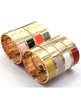 18 Mm Version Gold Hot Sale Numbers And Letters H Classic Bracelet Rainbow H Bracelets For Man Yf009 Txk by Ali Express.Com