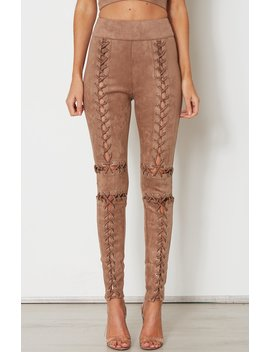 Revolver Pants Rose Gold by White Fox